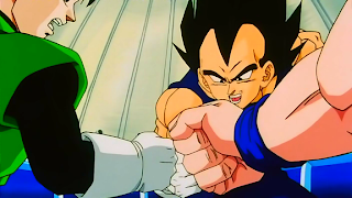 Gohan, Vegeta and Goku from Dragon Ball Z