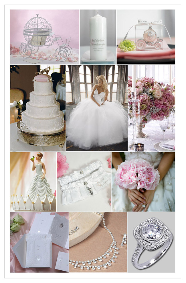 You can incorporate all your fairy tale ideas with the wedding