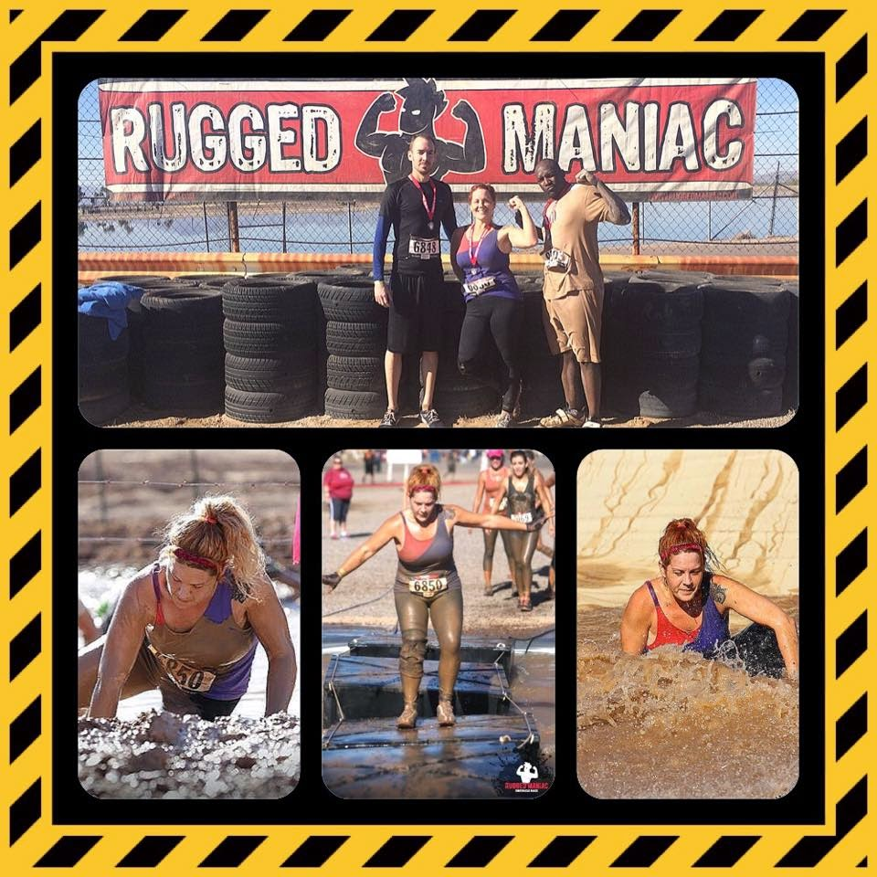 11.22.14 Rugged Maniac 5K Obstacle Course