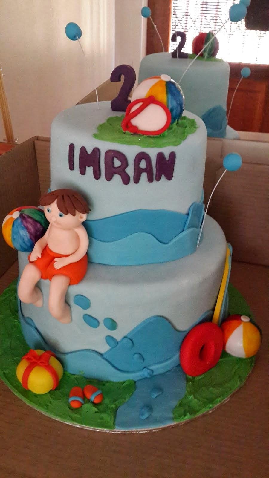 Imran's Beach Cake