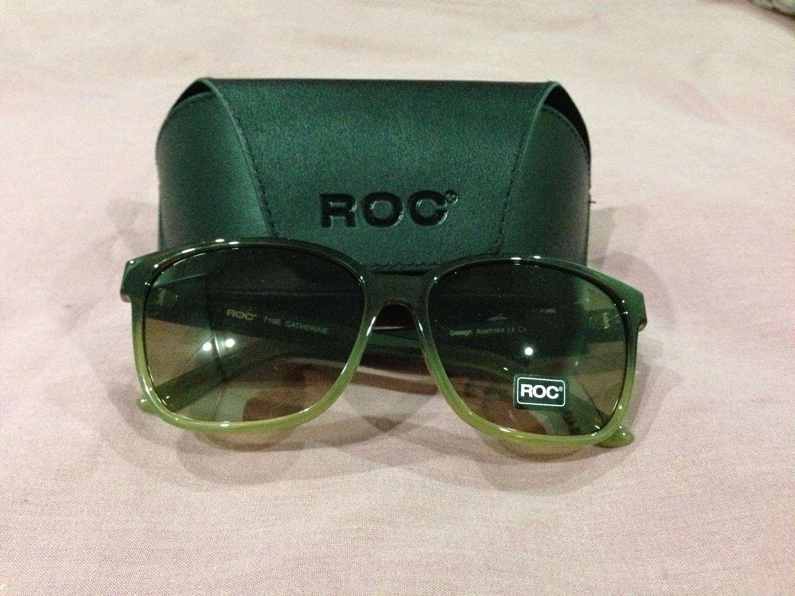 ROC Catherine Green/Brown Sunglasses