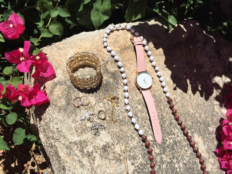 Francesca's Collections bracelet, Shashi rings & earrings, Kate Spade necklace, Tribe + Glory necklace, Wristology Watches, jewelry, fashion accessories, Wristology watches, Daniel Wellington watches, Daniel Wellington, Baublebar