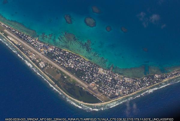 Tuvalu, víctima climática, naturaleza