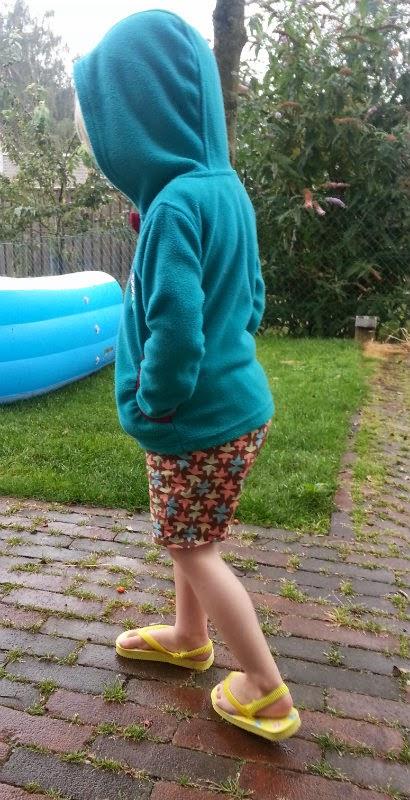 Korte broek voor peuter