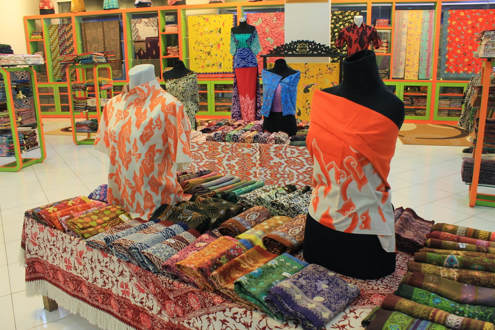 Pusat Grosir Baju Batik Surabaya