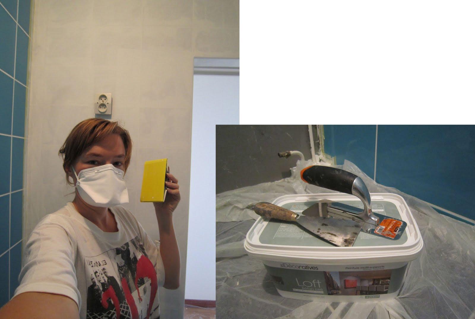 claireobscur: La salle de bain en X étapes