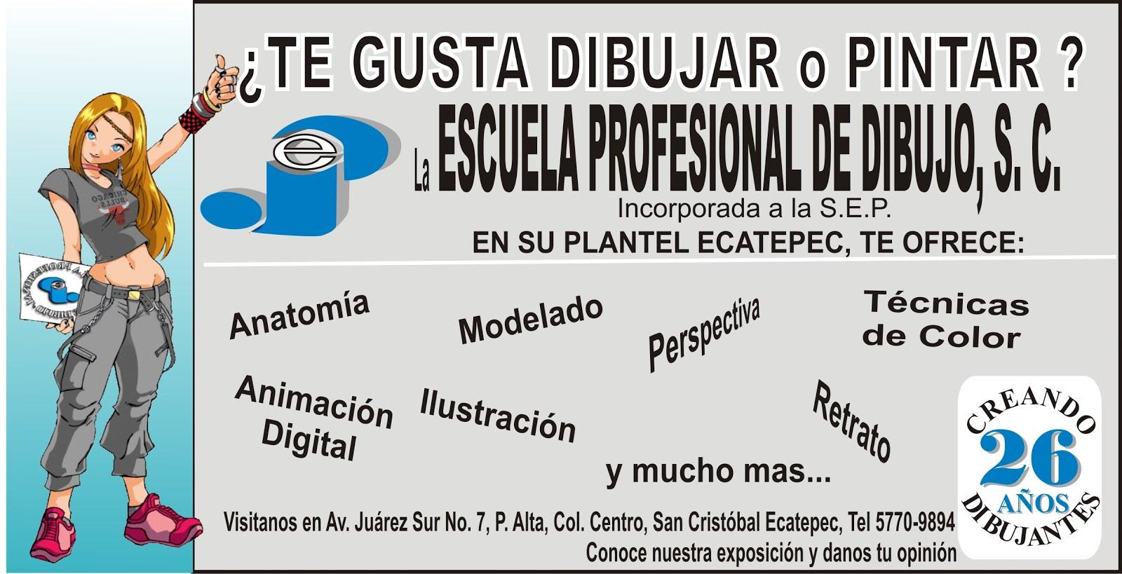 El mexiquense Hoy Escuela Profesional de Dibujo