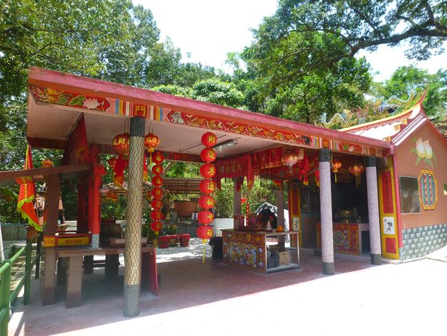 Un templo budista