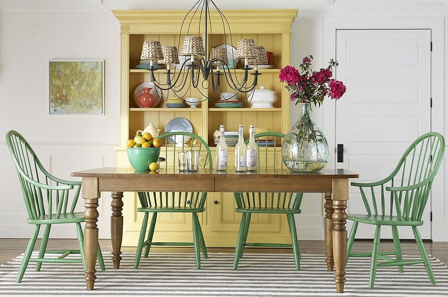 Journey Home Interior Design for Canberra: Windsor Chairs and Modern Family Dining