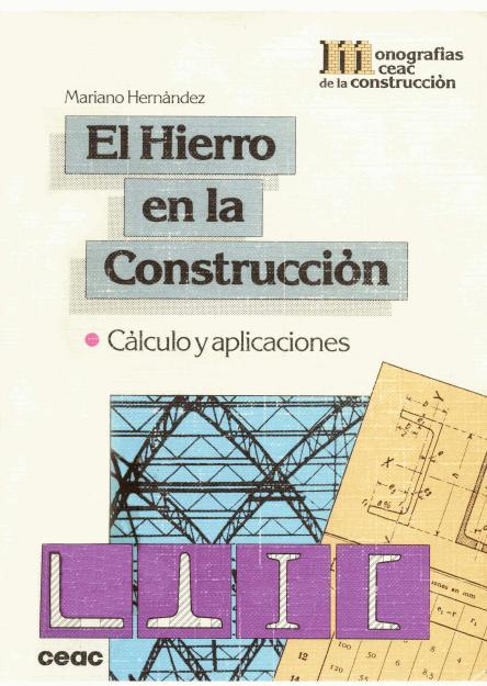 Libros Town El Hierro En La Construcci N Mariano Hern Ndez