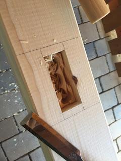 Bau einer terrassen berdachung teil 1 for Holzverbindungen zimmermann
