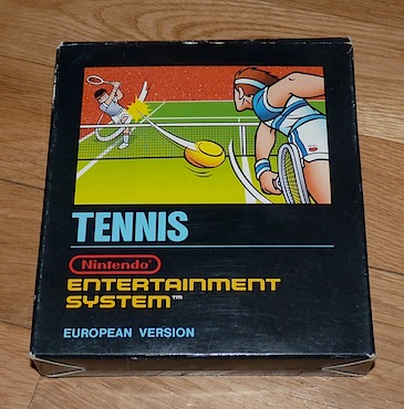 Tennis - Nintendo Entertainment System