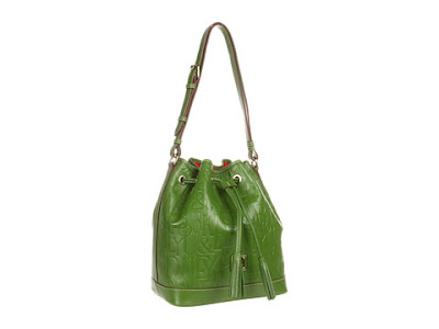 Dooney and Burke retro drawstring bag