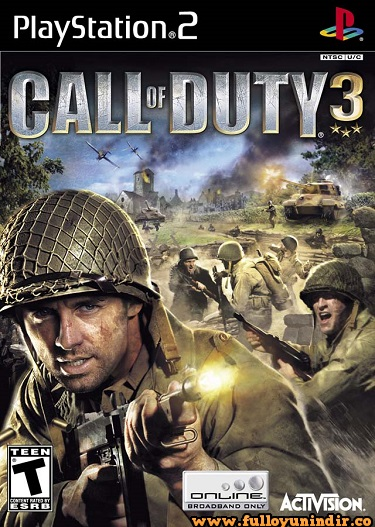 Call of Duty 3 (Europe) Playstation 2 Tek Link
