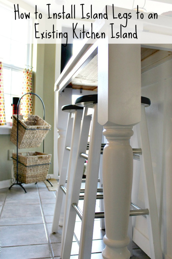This Post Will Explain How To Install Legs On A Kitchen Island.