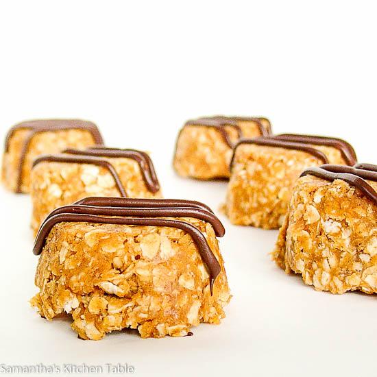 Peanut Butter Chocolate Energy Bites