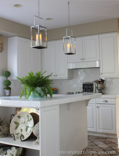DIY Kitchen Pendant Lanterns