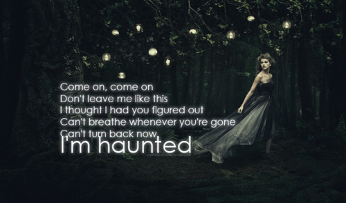 Haunted taylor swift