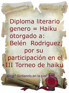 TORNEO DE HAIKUS