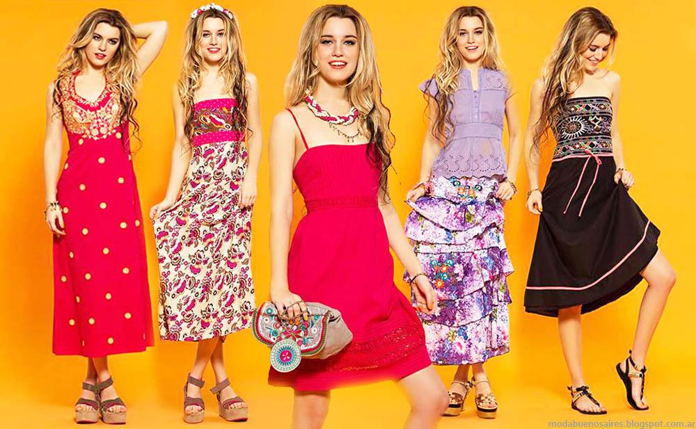 Moda verano 2015. Vestidos, faldas, blusas y túnicas verano 2015 Sophya. Moda 2015 mujer.