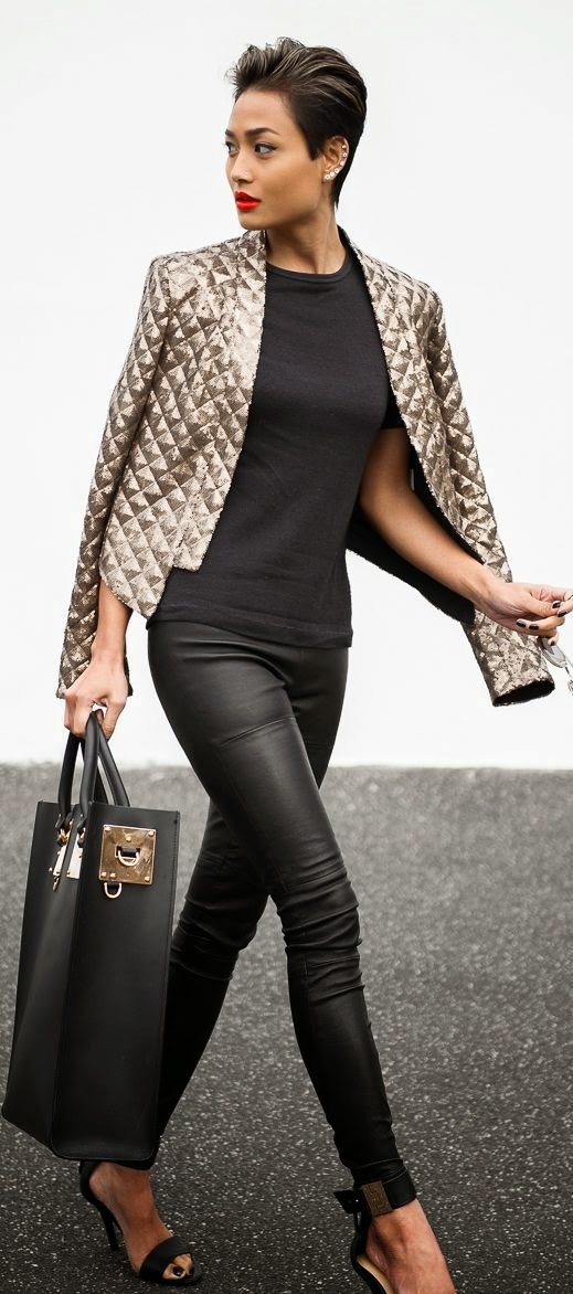 Street styles edgy chic
