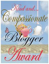 Compassionate blogger award