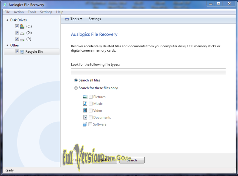 Auslogics File Recovery Full Version