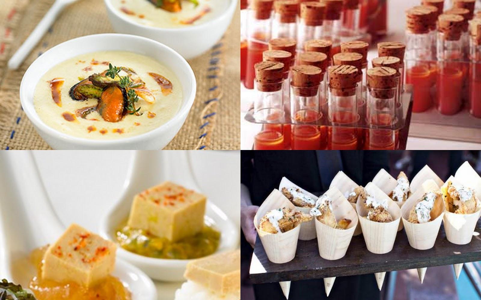Fiestas con encanto aperitivos gourmet muy f ciles for Platos para aperitivos
