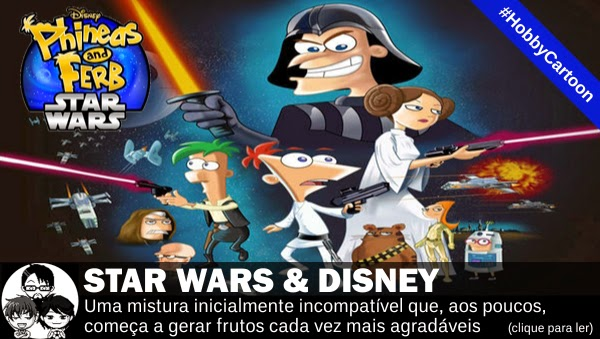 Pocket Hobby - www.pockethobby.com - Vitrine - #HobbyCartoon - Star Wars, Disney e muito mais!
