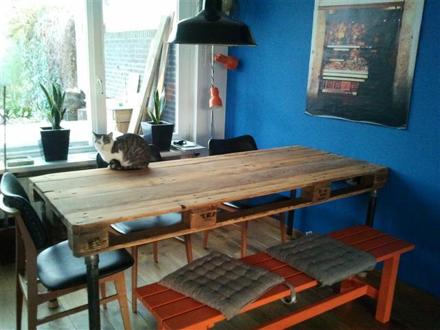 Tafel Laten Bezorgen : Stoere industriële tafels geheel op maat gemaakt robuustetafels