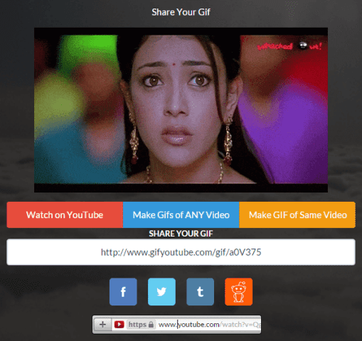 How to create animated gifs, create animated gifs from YouTube