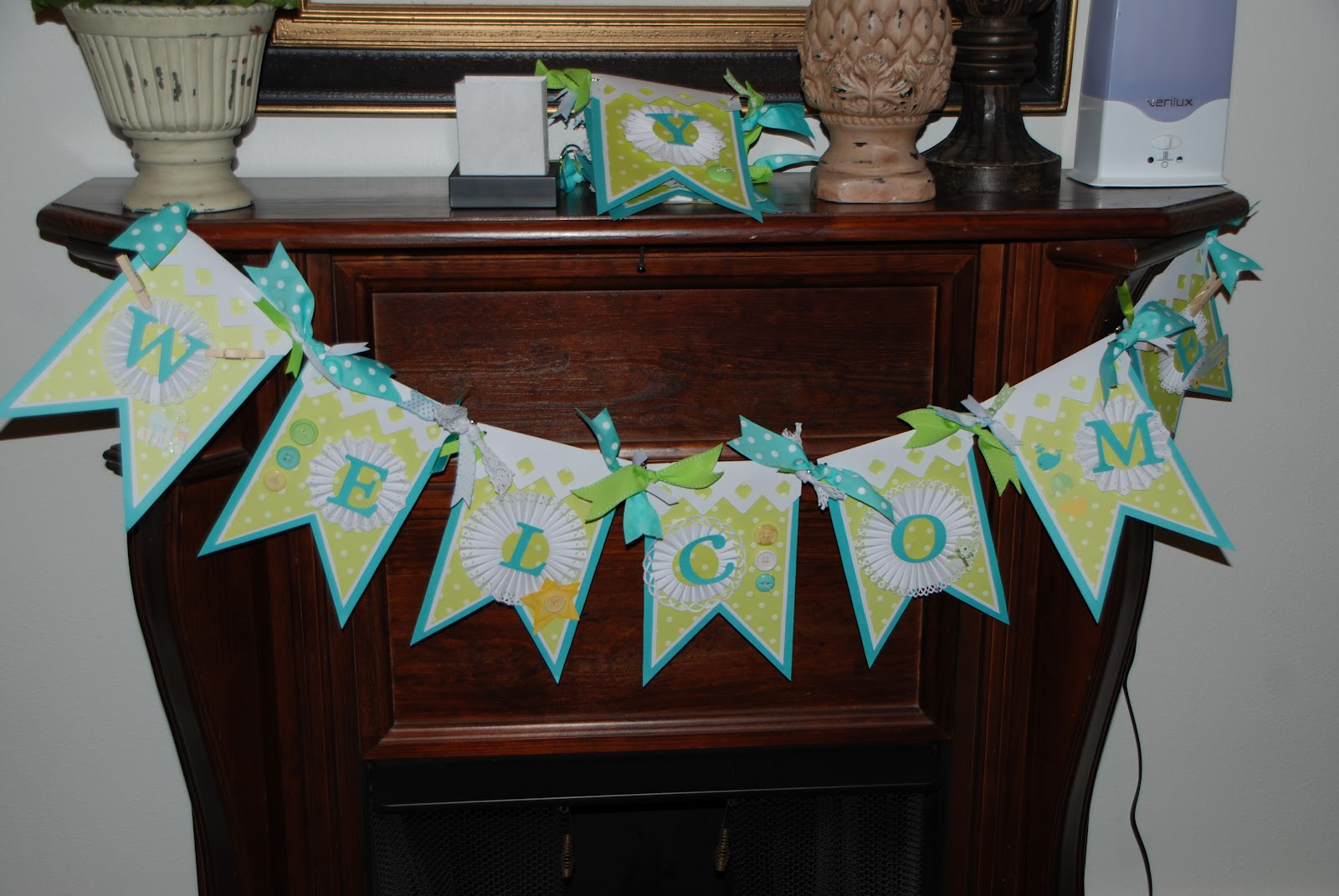 Bookoo Blessings Baby Shower Banner Baby Boy