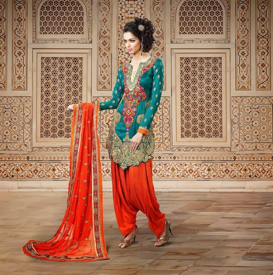 Designer Patiala Salwar Suits Online
