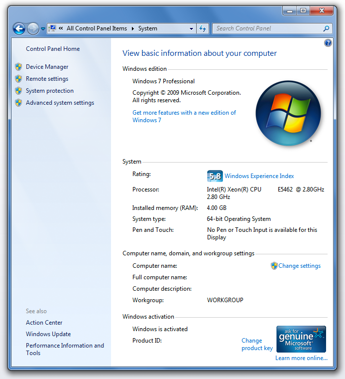 Change computer name windows 7 8 vista xp reviews daily for Change windows