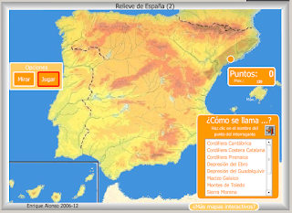 Mountain Ranges In Spain