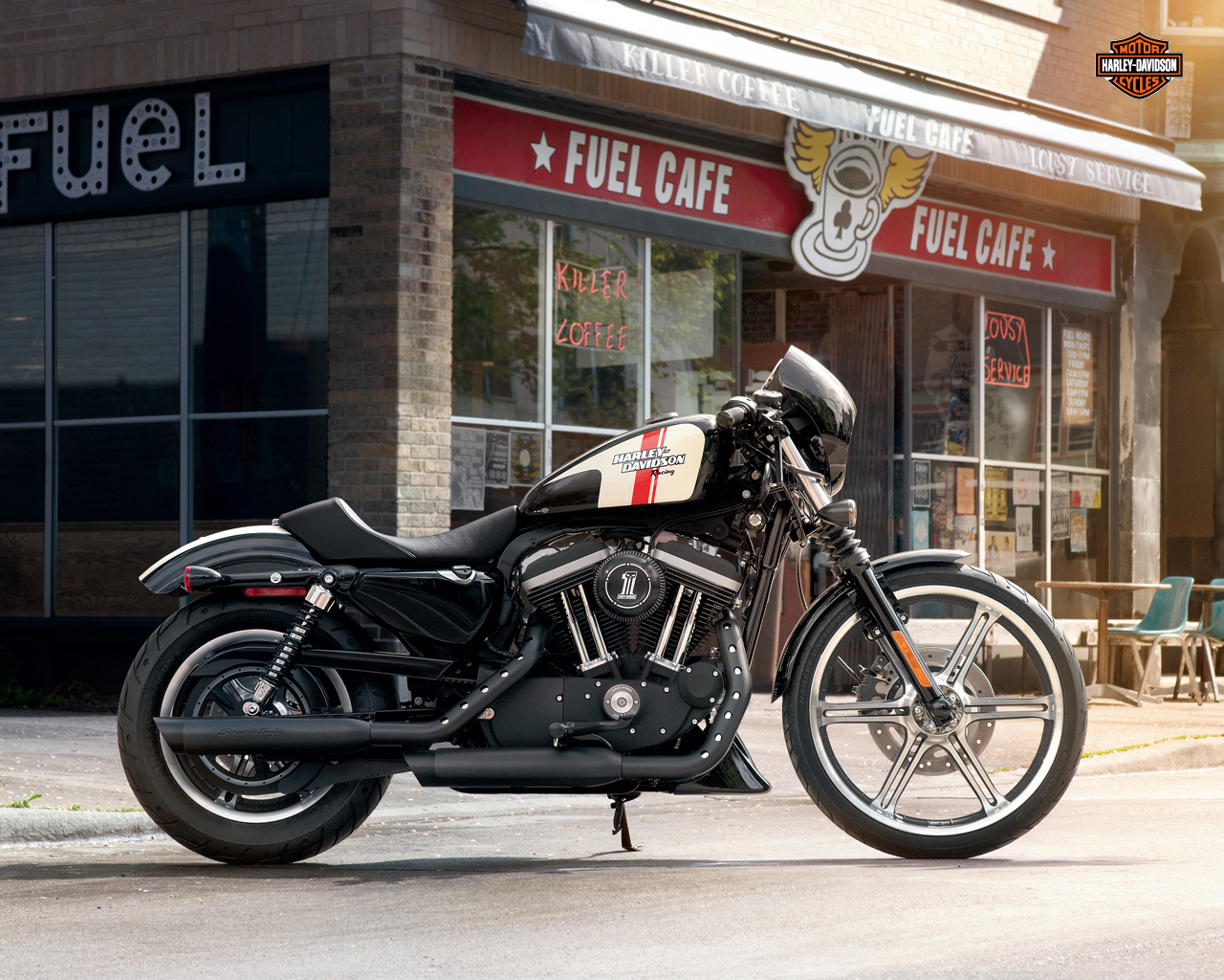 Harley Davidson Sportster Iron 883 Wallpaper Picture   HD