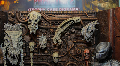 NECA 2013 Toy Fair Display Pictures - Predator Trophy Wall Display