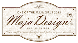 I'm on the Maja Design Team!