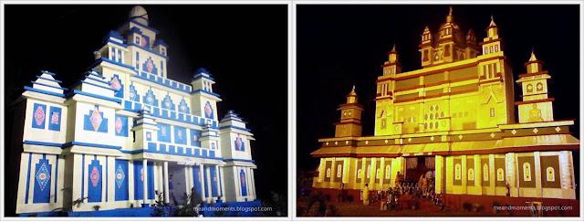 Diwali pandals, puja pandals, Mahanad Kali puja pandals