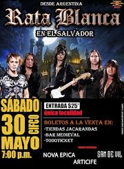 """RATA BLANCA EN EL """"CIFCO"""" (EL SALVADOR) - 30/05/2015"""