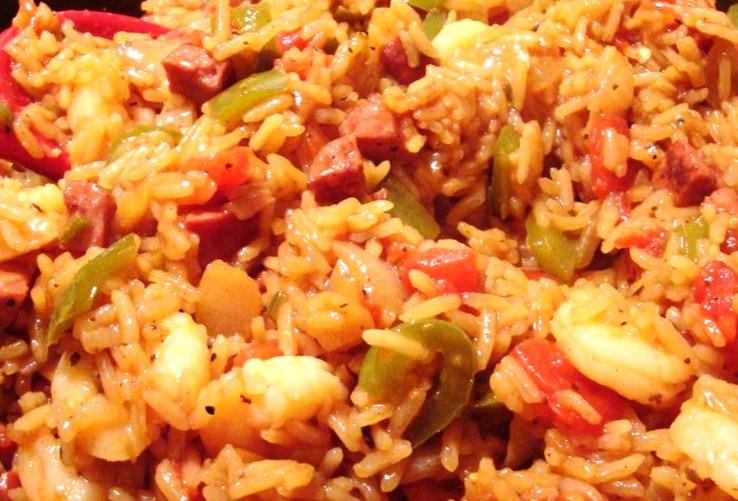 Cajun Delights: Cajun Shrimp Jambalaya + Weekend Lagniappe