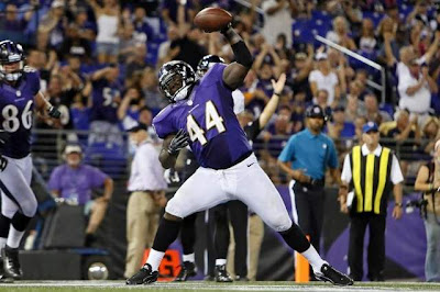 Premier match de la saison pour les Ravens face aux Bengals