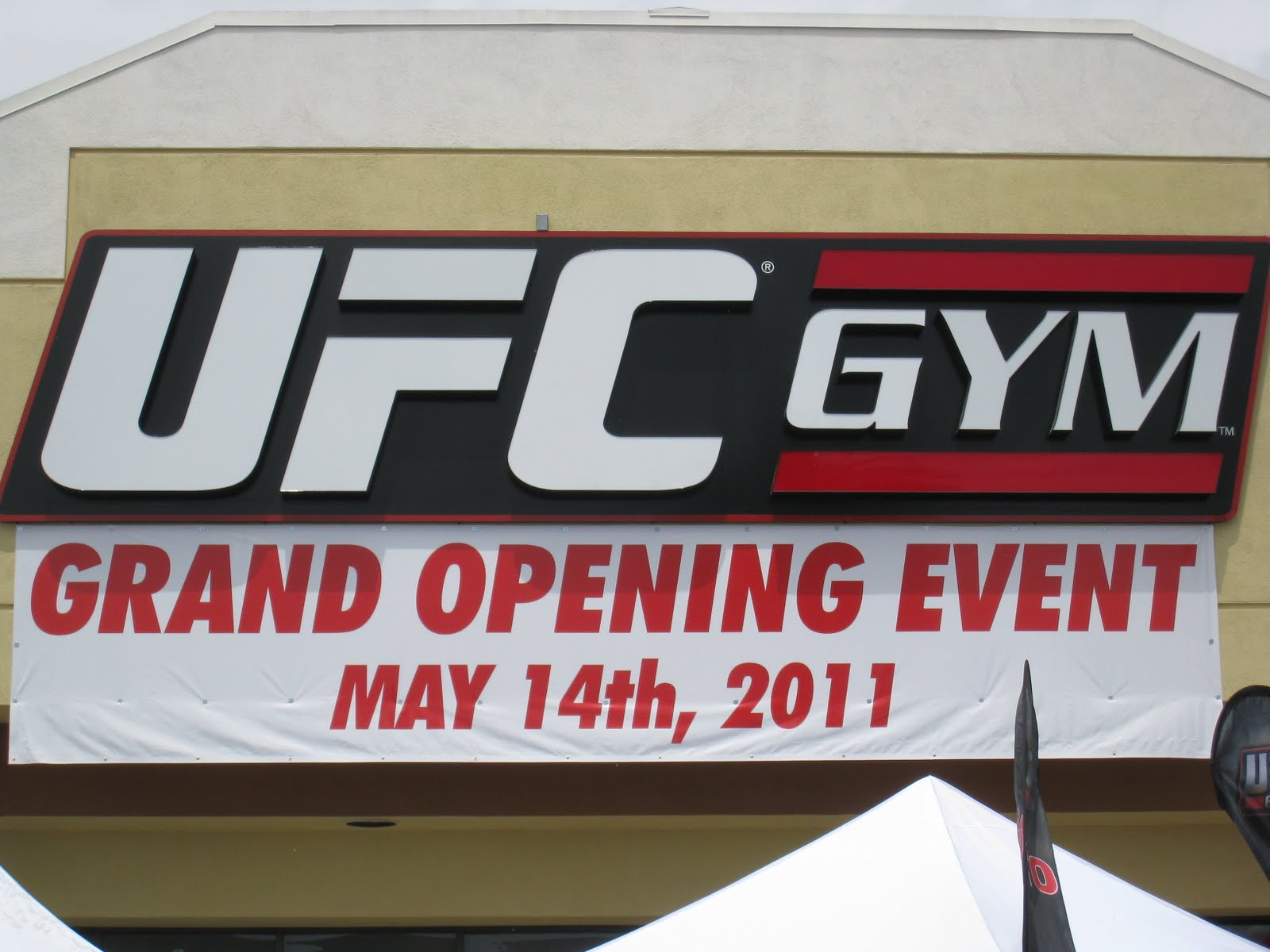 UFC Gym Grand Opening - My Autograph Signings