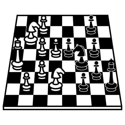 Раскраска шахматы
