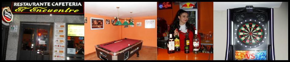 Cafetería bar El Encuentro de Fuenlabrada Madrid. ¡Las cosas como a ti te gustan!