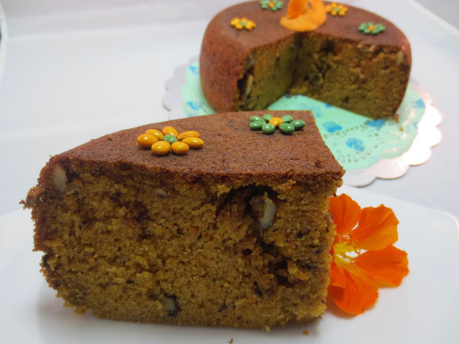 Bizcocho de zanahoria (Carrot cake) Ana Sevilla olla GM