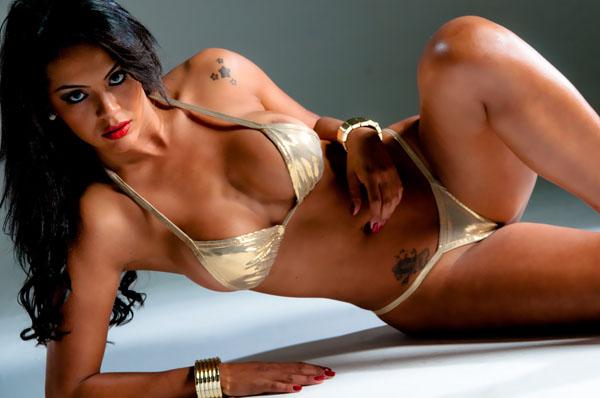 Aline Bernardes, candidata do Mato Grosso no Miss Bumbum Brasil 2012
