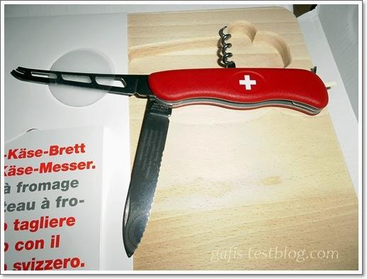 Schweizer-Käse-Messer