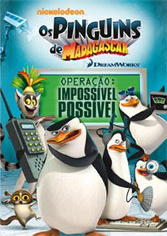 Os Pinguins de Madagascar - Operação Impossível Possível  Dual Audio2012