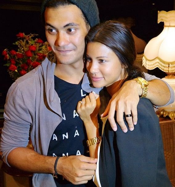 Gab Valenciano and Tricia Centenera engaged